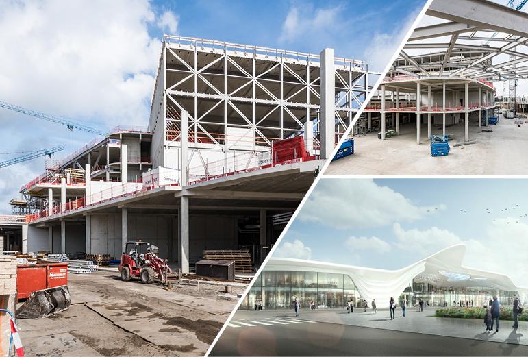 Vernieuwing van het Winkelcentrum Leidsenhage